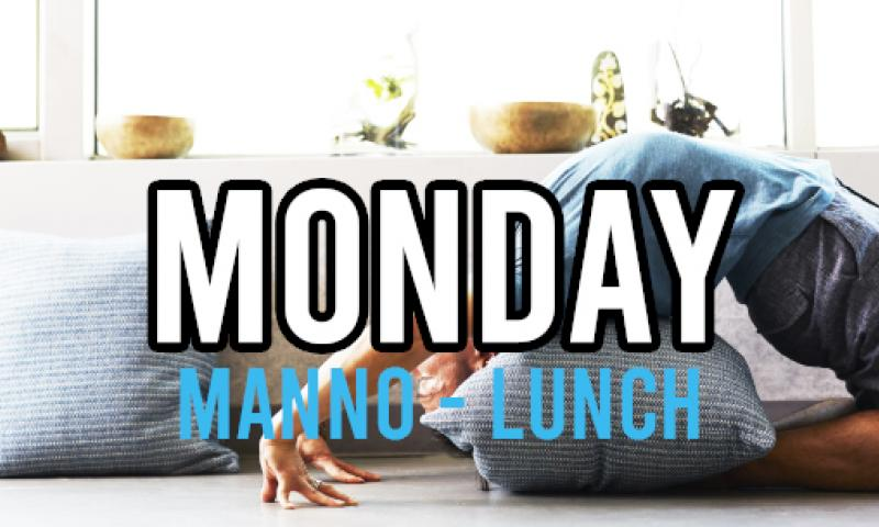 yoga manno mon lunch